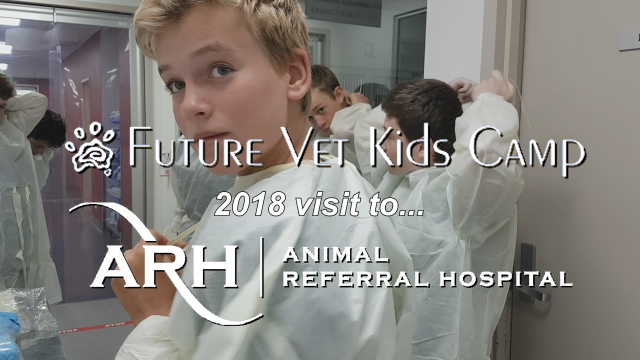 2018 Future Vets Tour Animal Referral Hospital